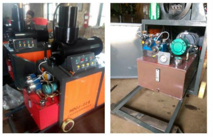 Steel Rebar Upsetting Machine For Building Material Parallel Threading