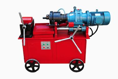 China 4KW Rebar Thread Rolling Machine With Rib Stripping Roller Range 16MM - 40MM supplier