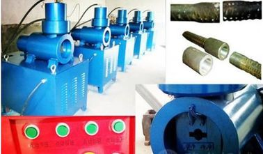 China Steel Rebar Upsetting Machine For Building Material Parallel Threading supplier