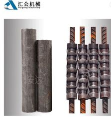 China 20# Carbon Steel Reinforcing Bar Couplers With Cold Extrusion Press supplier