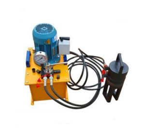 China Steel Rebar Coupler Machine Cold Extrusion Press With Simple Structure supplier