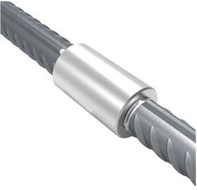 China Construction Materials Threaded Rebar Coupler , Steel Bar Connectors High Strength factory