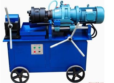 High Speed Rebar Thread Rolling Machine 4KW Power Electrical Control
