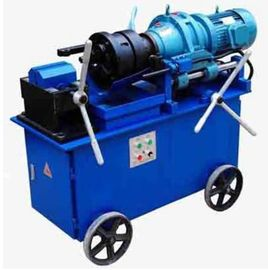 Customerised Rebar Thread Rolling Machine 4KW Power 40 - 62R / Min Speed