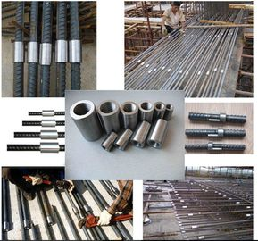 China Steel Mechanical Rebar Couplers Rolltec Parallel Threaded Building Material factory