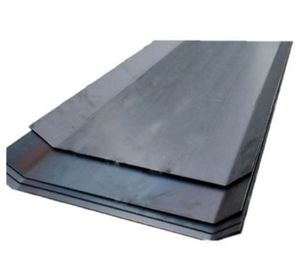 Construction Galvanized Metal Waterstop , Waterproof Water Stop Plate